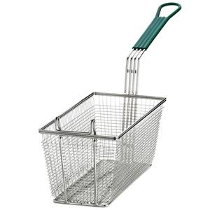 Mesh Fry Basket Rectangular 34 x 16.5 x 14.5cm