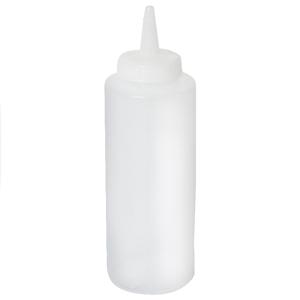 Genware Squeeze Bottle Clear 12oz / 35cl
