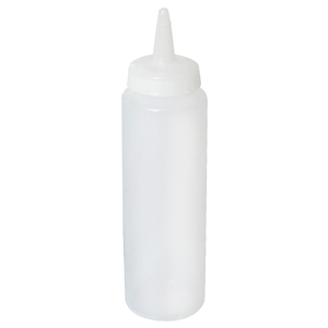 Genware Squeeze Bottle Clear 8oz / 23cl
