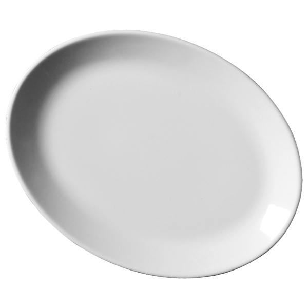 Royal Genware Oval Plates 28cm 11inch Dinner Plates