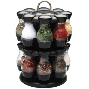 Apollo Spice Carousel with 16 Jars