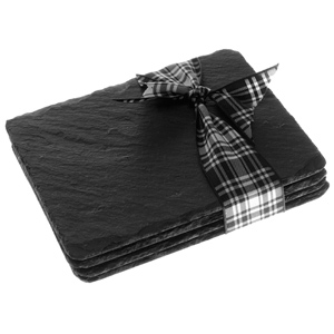 Just Slate Rectangular Coasters