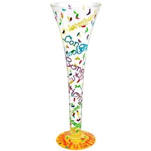 Lolita Congratulations Champagne Flute 7.7oz / 220ml
