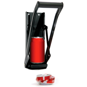 Wall Mountable Can Crusher