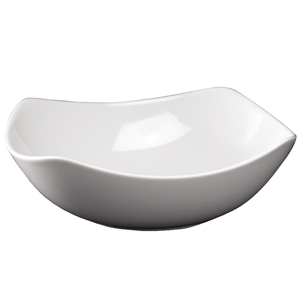Royal Genware Rounded Square Bowls 17cm