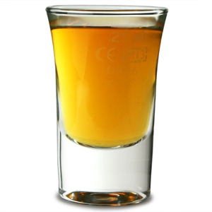 Hot Shot Glasses 1.2oz LCE 25ml