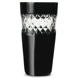 John Rocha Black Cut Shot Glasses 1.75oz / 50ml