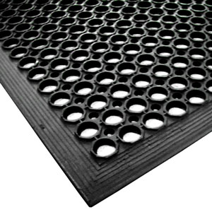Rubber Matting Roll Black 900mm X 1500mm X 14mm