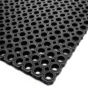 Rubber Matting Black 1 x 1.5m