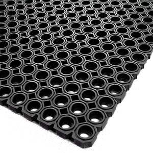Rubber Matting Black 1 X 15m Pack Of 2