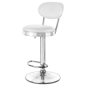 Milan Bar Stool White
