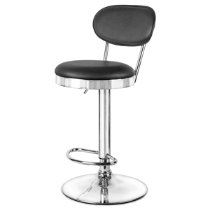 Milan Bar Stool Black