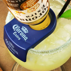 CoronaRita Bottle Holder