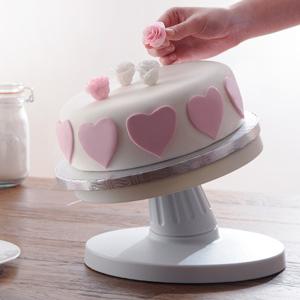 Mason Cash Tilting Cake Decorating Turntable 25cm