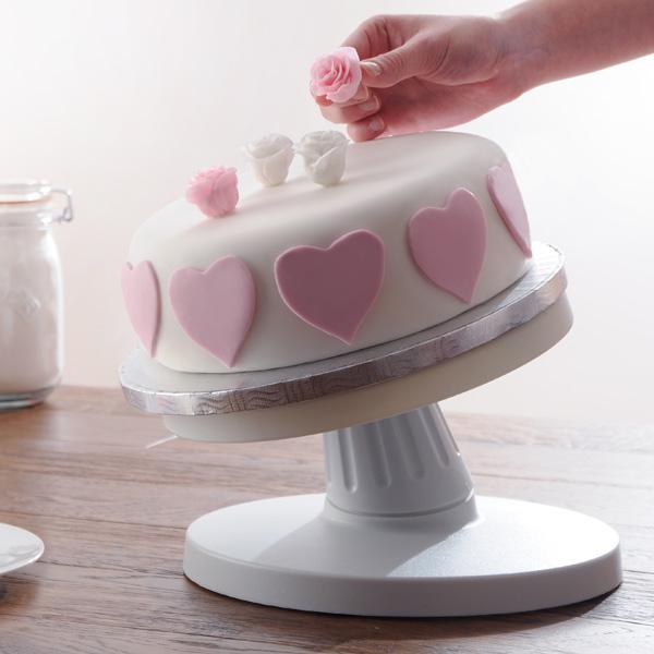 Homemade Cake Decorating Turntable : Mason Cash Tilting Cake Decorating Turntable 25cm ...