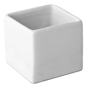 Utopia Titan Gourmet Square Bowl 3.25oz / 10cl