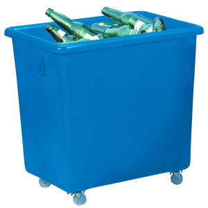 Bottle Skip 130ltr Blue