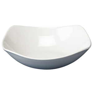 Churchill White X Squared Bowl SQ9 8inch / 20.7cm
