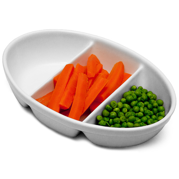 11 Elegant Kitchens Delivered Straight From Your Dreams: Royal Genware 3 Division Vegetable Dish 24cm