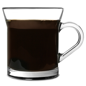 Miami Glass Coffee Mugs 11.2oz / 320ml
