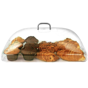 Polycarbonate Rectangular Cake Dome