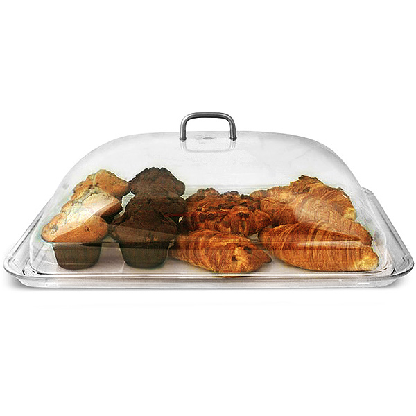Polycarbonate Rectangular Cake Dome with Tray  sc 1 st  Drinkstuff & Polycarbonate Rectangular Cake Dome with Tray | Cake Plate Cake ...