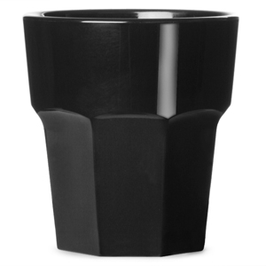 Elite Remedy Polycarbonate Rocks Tumbler Black 9oz / 255ml