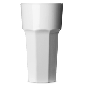 Elite Remedy Polycarbonate Hiball Tumbler White 12oz / 340ml