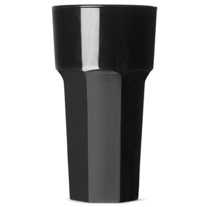Elite Remedy Polycarbonate Hiball Tumbler Black 12oz / 340ml