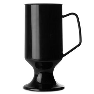Elite Polycarbonate Irish Coffee Glasses Black 8oz  230ml (Case of 18)