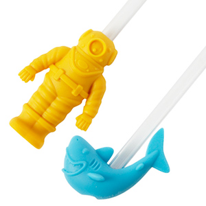 Deep Drink Diver Bubble Straws