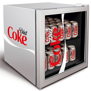 Image of Diet Coke Mini Fridge