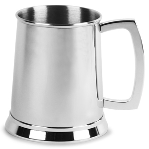 Devon Stainless Steel Pint Tankard 20oz / 568ml