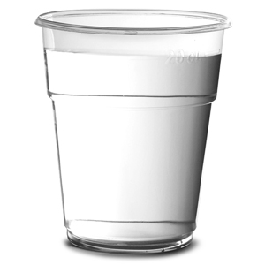 Disposable Individually Wrapped Plastic Tumblers 9oz / 250ml