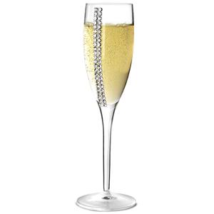 Chinelli Swarovski Regina Champagne Flutes 9.2oz / 260ml