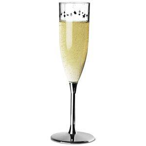 Enchanted Evening Plastic Champagne Flute 6.4oz / 180ml