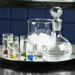Carafe Shooter Set