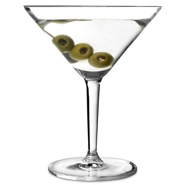 Basic Bar Classic Martini Glasses 6.4oz / 182ml | drinkstuff ®