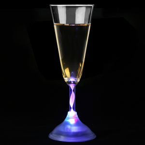 Flashing Champagne Flute 6oz / 170ml