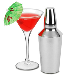 Manhattan Mini Cocktail Shaker 10oz