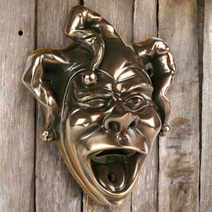 Beer Buddies Jester Wall Mounted Bottle Opener