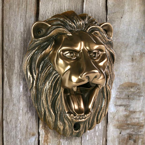 beer buddies lion wall mounted bottle opener