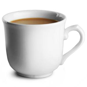 Churchill White Sandringham Elegant Cup CSE 7oz / 19.6cl