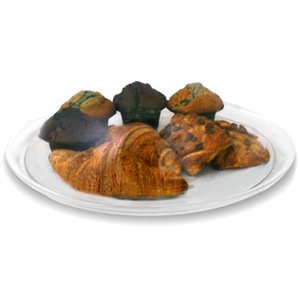 Polycarbonate Round Cake Tray