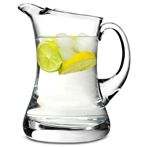 Waisted Ice Lipped Jug 38.7oz / 1.1ltr