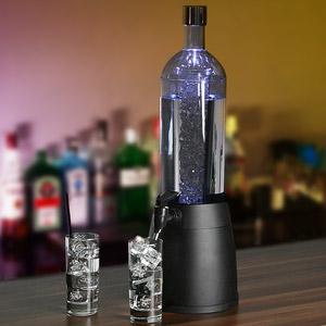 Ice Core Bottle Shaped LED Drinks Dispenser 2.7ltr