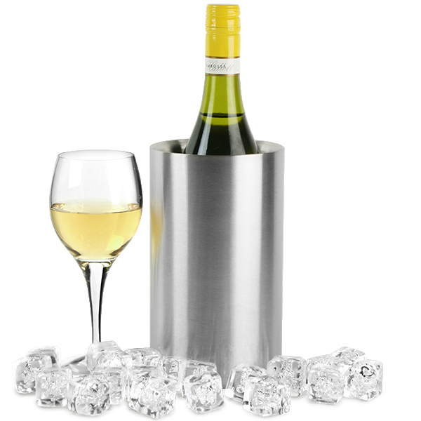 Stainless Steel Double Walled Wine Cooler Wine Chiller