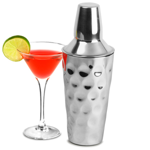 Hammered Dimple Effect Cocktail Shaker