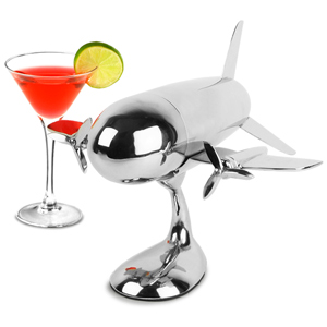 Aeroplane Cocktail Shaker