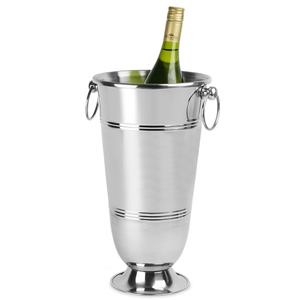 Long Wine & Champagne Bucket with Ring Handles